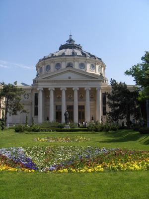 Bukarest Atheneum, romersk arkitektur