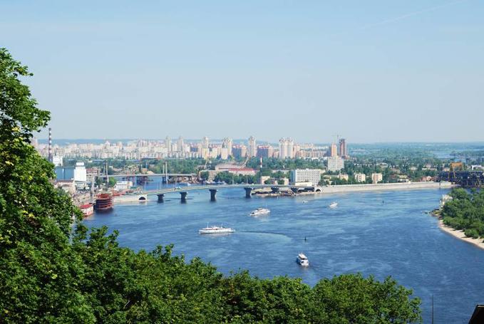 Dniepr i Kiev