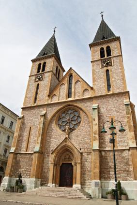 Domkyrkan i Sarajevo
