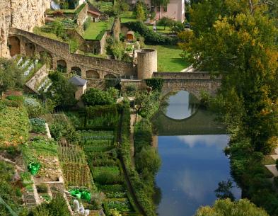 Gamla staden i Luxemburg