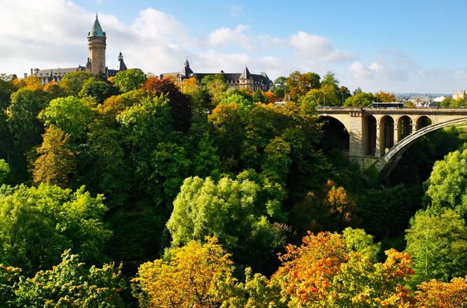 Grönska i Luxemburg
