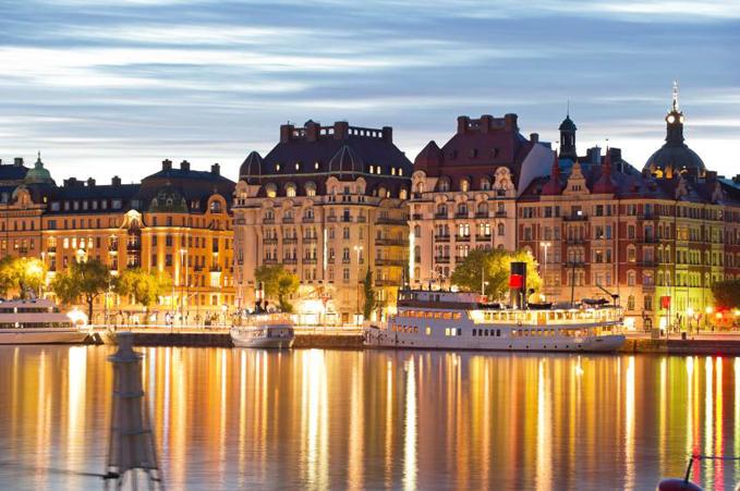 Stockholm vid havet