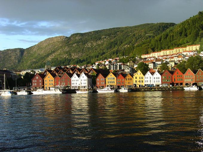 Vy över Bergen